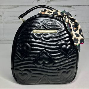 Betsey Johnson Rounded Backpack NWT